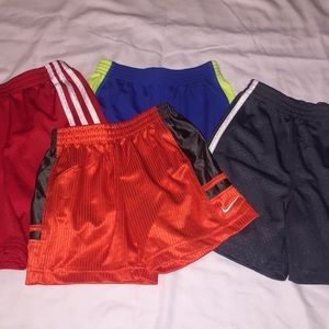 3T Shorts Bundle of 4 (Adidas, Nike, Healthtex)